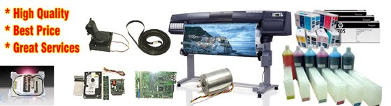 • HP Designjet 5000/5100/5500 Repair Parts & Services